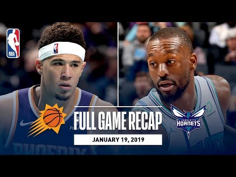 Full Game Recap: Suns vs Hornets | Kemba Leads CHA
