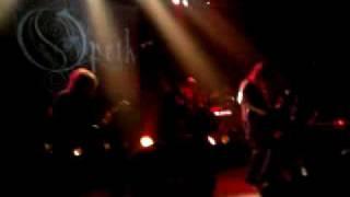 Opeth Paris Bataclan 3 avril 2010 intro set 1