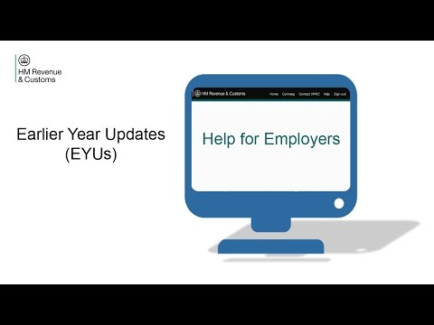 Help for Employers: Earlier Year Updates