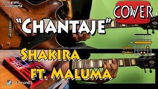 Chantaje - Shakira ft.Maluma Cover Instrumental/Tutorial Guitarra