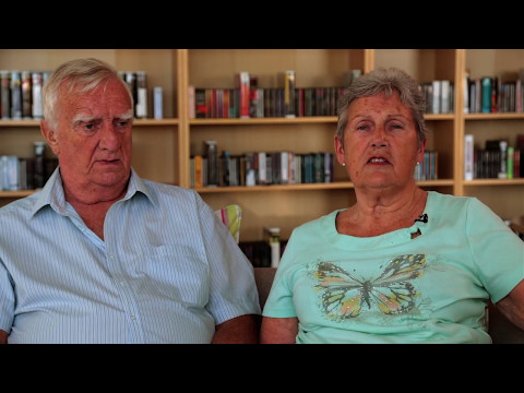 Joan talks about support husband Derek has received from Blind Veterans UK