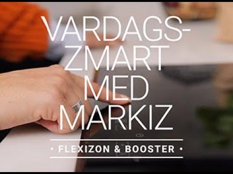 Cylinda – Vardagssmart med Markiz (Flexizon & Booster)