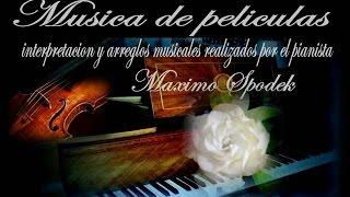 MUSICA INSTRUMENTAL ROMANTICA DE FRANCIA, TEMA DE MOULIN ROUGE, EN PIANO Y ARREGLO MUSICAL