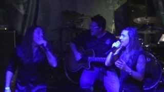 Almah & Fabio Lione & Tito Falaschi - Rebirth - Manifesto Bar - 2013