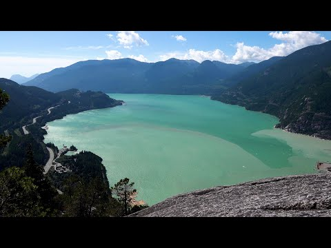 Stawamus Chief Trail, British Columbia, Canada in 4K Ultra HD