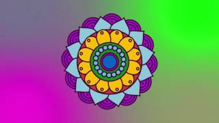 Mandala Psytrance | Projection