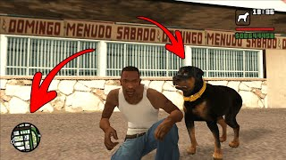 Secret Dog Location in GTA San Andreas! (Dog Cheat Code)