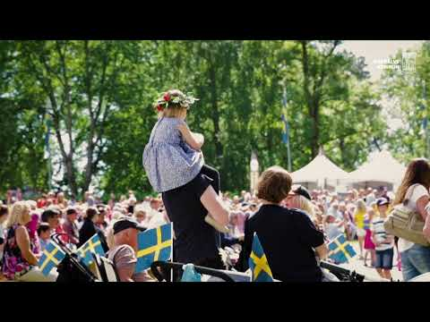 Nationaldagen 2018 blev en solig folkfest