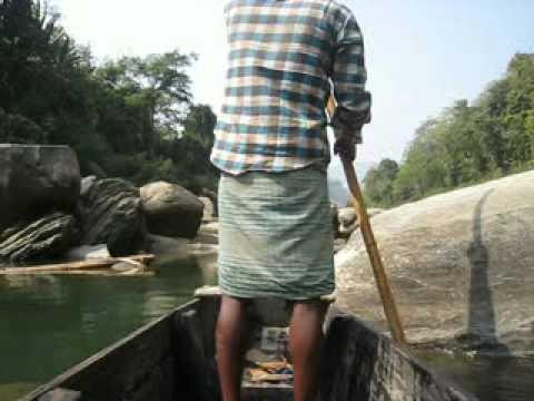 Journey on Shangu river, Bandarban