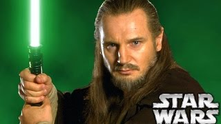 Qui-Gon's Lightsaber After The Phantom Menace - Star Wars Explained