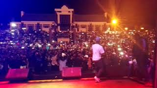 NASTY C - UOK || LIVE PERFORMANCE @ FREESTATE BEACH PARTY 2017