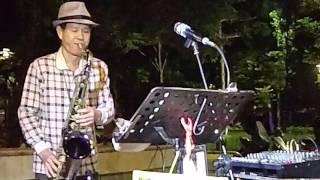 快樂的馬車-陳懷盛薩克斯風演奏1041202捷運海山站