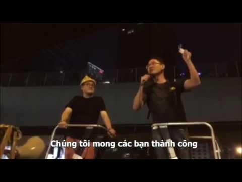 Nguyễn Hoàng Thanh-Tâm và sinh viên Hồng Kông
