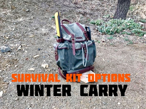 Survival Kit Options(Winter Carry)