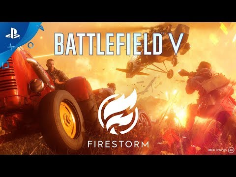 Battlefield V - Official Firestorm Trailer | PS4