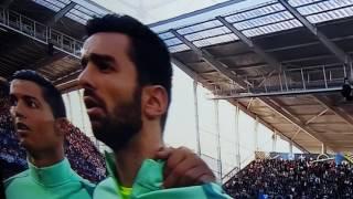 Euro 2016 France, a portuguesa, hino nacional português