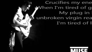 Muse - Plug in Baby (lyrics)