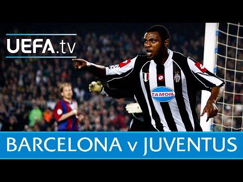 Barcelona v Juventus 2003 highlights