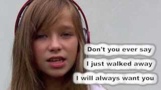 Wrecking Ball Miley Cyrus Connie Talbot cover [lyrics]
