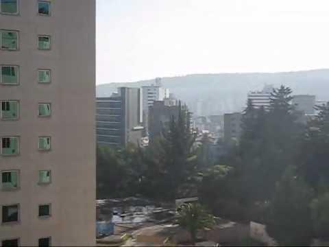 Quito, Ecuador, Vista de la ciudad desde Hotel JW Marriot