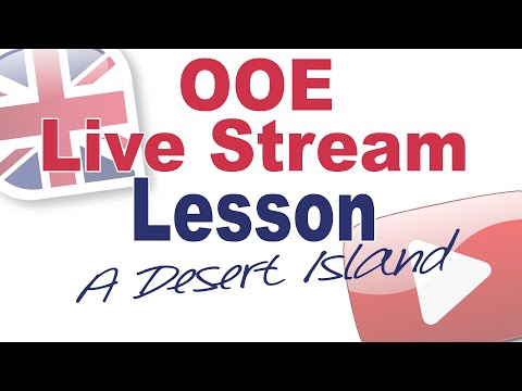 Live Stream Lesson August 11th (with Rich) - A Desert Island