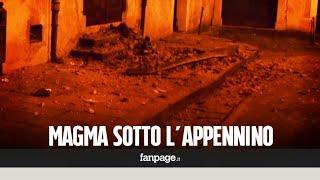 """Magma sotto l'Appennino meridionale, l'Ingv: """"Possibili terremoti di magnitudo significativa"""""""