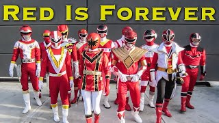 FOREVER SERIES: Red is Forever [Power Rangers]