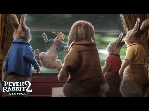 PETER RABBIT 2: A LA FUGA. Vuelven las travesuras. En cines 31 de julio.