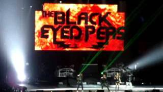 Black Eyed Peas - Let's Get it Started Live in Auckland, New Zealand 13 October 2009