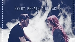 » Jace and Clary ϟ Every breath you take