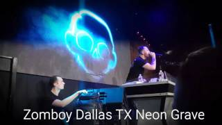 Zomboy: Neon Grave Tour| The Lizard Loungue| Dallas TX| 04/16/2016