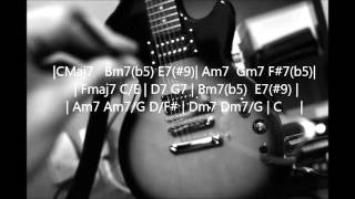 R&B Backing Track in C major.
