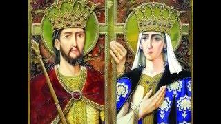 Troparul Sfinților Împărați Constantin și Elena