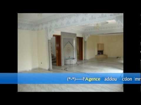 Une très belle Villa a Louer sur Hay Riad  — Agence Baddou Action Immo— RABAT