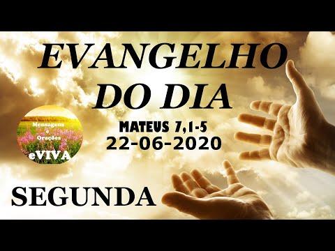 EVANGELHO DO DIA 22/06/2020 Narrado e Comentado - LITURGIA DIÁRIA - HOMILIA DIARIA HOJE