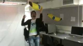 Interactive Bananas by João Brasil