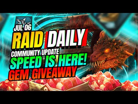THE NEED FOR SPEED! 🤑 Multiple Giveaways! | RAID Shadow Legends