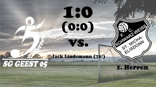 Highlights SG Geest 05 II vs. SW St. Michaelisdonn - 1:0 (0:0) - 24.09.2017