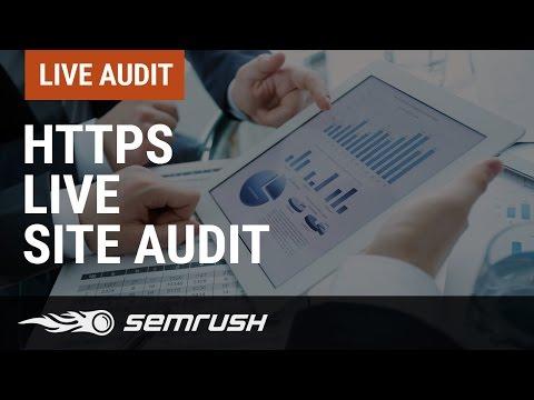 HTTPS Live Site Audit