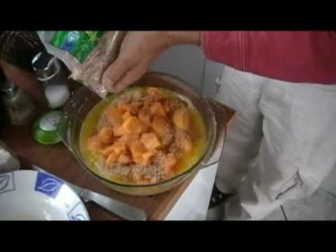 Pro-Ecuador: Ecuador Food – Easy Peach Cobbler