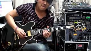Rock Me Baby BB King  Lucille 古澤剛 Takeshi Furusawa Gibson ギブソン ルシール