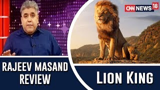 The Lion King Movie Review by Rajeev Masand