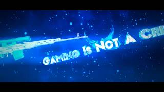 3D Intro - Gaming Is Not A Crime