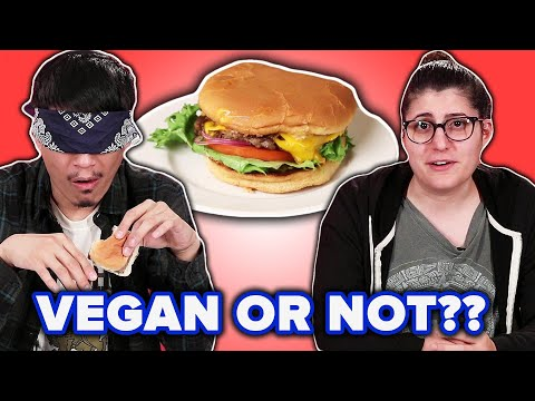 Meat Eaters Guess Which Burger Is Vegan