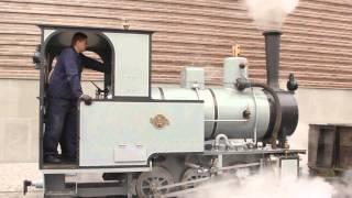 Představení nové parní lokomotivy vyrobené v České republice před NTM