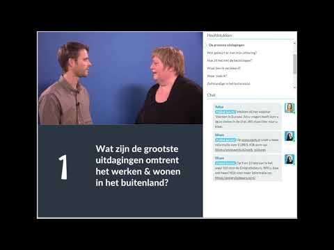 Werk zoeken in Europa. Webinar van UWV en EURES Nederland photo