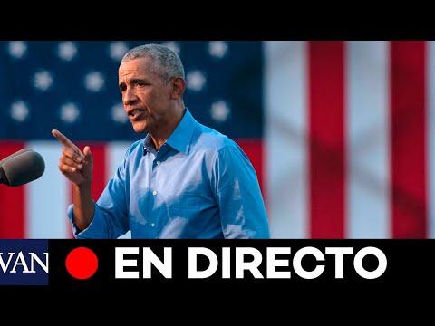 DIRECTO: Barack Obama hace campaña por Biden-Harris en Atlanta