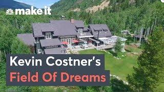 Inside Kevin Costner's $250,000 Per Week Aspen Estate