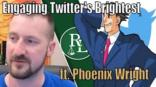 Chill Twitter Roast Followed by Ace Attorney - New Investigation Starts!