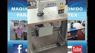 Maquinas de Ultrasonido para Bolsas de Notex